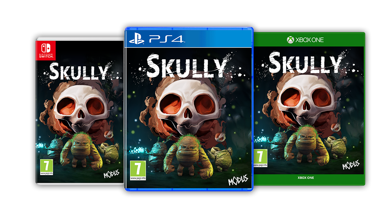 Skully XBOX One, PS4 a Nintendo Switch