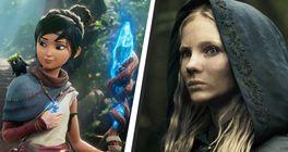 Shrnutí 2. dne E3 2021: Witcher, Kena, King's Bounty 2 i Doki Doki Literature Club