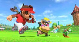 Relaxační hraní golfu mezi tornády - recenze Mario Golf: Super Rush
