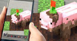 Ve vývoji je mobilní AR hra ze světa Minecraftu