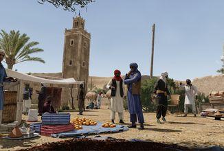 Sahara s velbloudy je dějištěm dalšího Creator DLC pro Armu 3