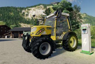 Trailer připomíná vydání alpského rozšíření Farming Simulatoru 19