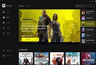 Epic Games Store launcher u některých počítačů zvyšuje teplotu CPU