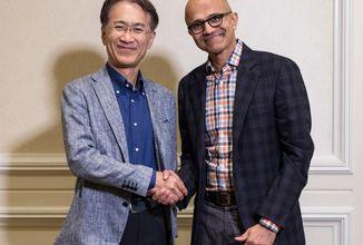 Sony a Microsoft si podali ruky v oblasti cloudového hrania