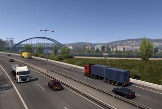 Euro Truck Simulator 2 a American Truck Simulator dostanou lepší nasvícení
