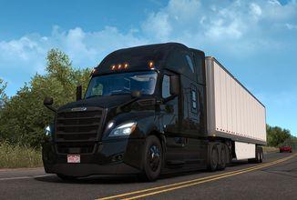 American Truck Simulator nabízí nový tahač a doplňky do kabiny
