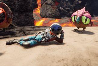 Journey to the Savage Planet je šílená explorativní sci-fi hra plná sarkastického humoru
