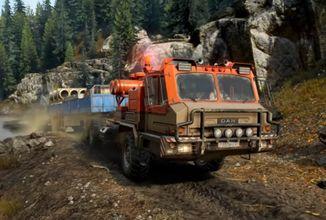 SnowRunner bude hráče bavit i po dokončení hlavních misí