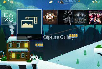 Sony rozdává vánoční motivy, nabízí wallpapery a pořádá další výprodej