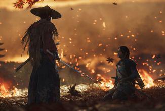 Podívejte se na 18 minut ze samurajské PS4 exkluzivity Ghost of Tsushima