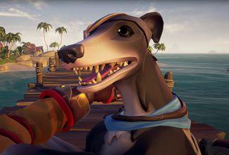 Sea of Thieves se příští týden dočká nových pokladů a psů