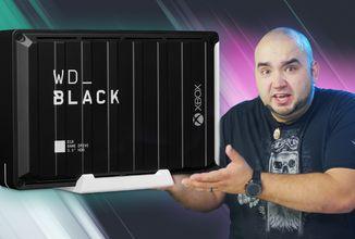 Největší externí disk vůbec! - WD Black D10