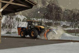 Sezónní modifikace mění roční období v PC i konzolových verzích Farming Simulatoru 19