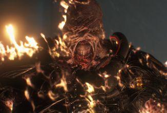 Resident Evil 3 remake představuje Nemesis