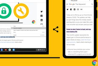 Chrome umí odkazovat na zvýrazněný text, Xcloud se začíná testovat a App Store má problém