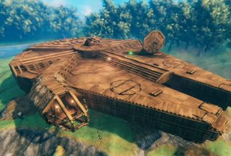 Hráči ve Valheimu vytvářejí úžasné stavby