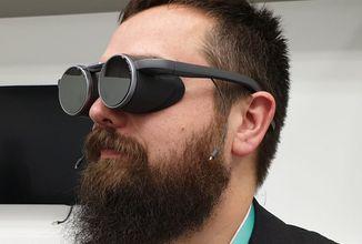 Panasonic představuje virtuální brýle budoucnosti. Bude s nimi možné sledovat i sport a kochat se přírodou