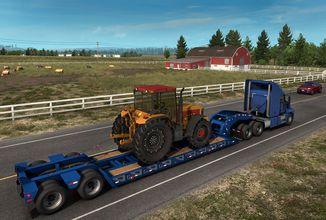 V American Truck Simulator budou speciální podvalníky