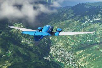 Proleťte se prostřednictvím videí nad detailním světem Microsoft Flight Simulatoru