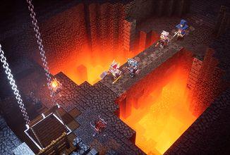 Vydání Minecraft Dungeons by se kvůli koronaviru mohlo zpozdit