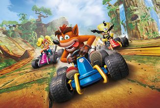 Crash Team Racing: Nitro-Fueled myslí s trofejemi i na hardcore hráče