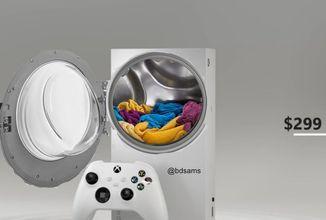 Hráči zesměšňují Xbox Series S. Konzoli přirovnávají k pračce, reproduktoru i plotýnce