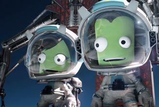 Kerbal Space Program sa dočká druhého dielu. Oznámil to nádherný no vtipný trailer
