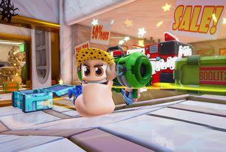 Červíci ve Worms Rumble rozehrají bitvy v reálném čase koncem roku