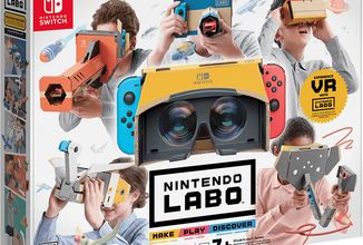 Nintendo přidává nové VR Labo sety