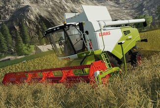 Platinová edice Farming Simulatoru 19 přidá vozidla a stroje značky CLAAS