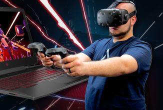 Zvládne notebook hraní ve VR?
