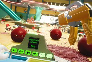 Pokud máte rádi ovoce, rozhodně se nedívejte na traumatizující záběry v recenzi hry Shooty Fruity!