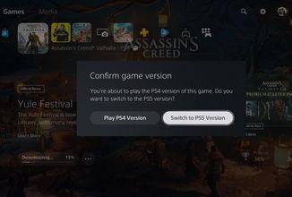 PS5 nově upozorní, že hrajete hru ve verzi pro PS4