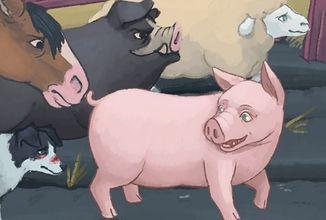 Farma zvířat od George Orwella ožívá ve hře pro PC a mobily