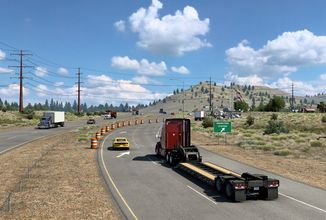 American Truck Simulator: Mapa Kalifornie bude vylepšena