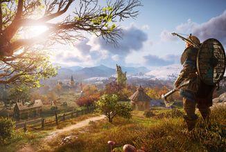 Mapa Assassin's Creed Valhalla má být větší než u Odyssey
