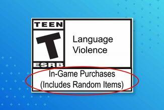 Přítomnost loot-boxů ve hrách bude označena na krabičce