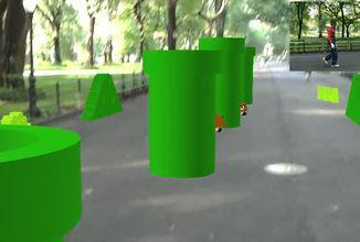 Super Mario Bros přetvořené na Hololens