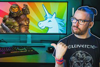 RGB světla, která reagují na hry, hudbu i filmy?!