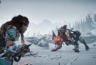 Patch pro Horizon Zero Dawn, nadále velký zájem o GTA V, hry na Gamescomu