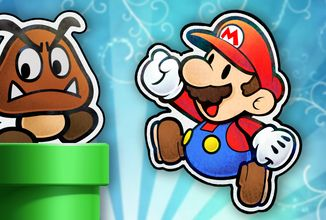 Připravte si pytle konfet, přichází Paper Mario: The Origami King!