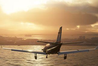 Microsoft Flight Simulator zaujme detailním světem, hangárem i svou velikostí