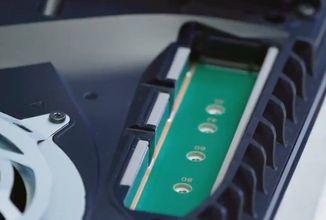 Slot pro SSD disk u PS5 čeká na vylepšení chladicího systému konzole