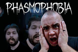 """Phasmophobia je víc než """"jen"""" duchařský horor - dojmy z hraní"""