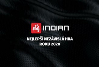 Nejlepší nezávislá hra roku 2020 komunity INDIAN