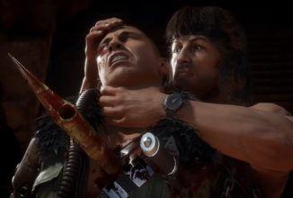 Rambo brutálně řádí v Mortal Kombat 11