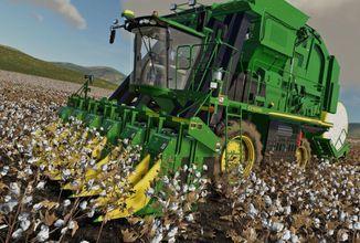 Farming Simulator 19 dostává nové DLC John Deere Cotton