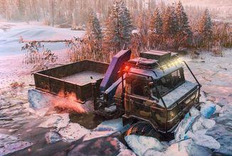 SnowRunner zve hráče na novou ledovou mapu a ke zdolání nových misí a výzev