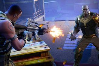 Avengers a Fortnite? Thanos se na omezenou dobu pouští do boje v battle royale