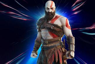 Kratos vstupuje na bojiště Fortnite